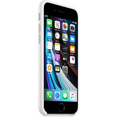 Avis Apple Coque en silicone Blanc Apple iPhone SE