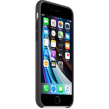 Avis Apple Coque en silicone Noir Apple iPhone SE