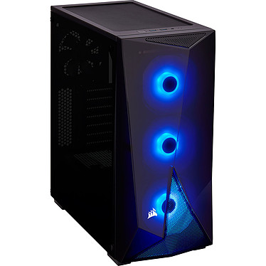 LDLC PC10 GeForce eSPORT PCS BATTLEBOX R5 AMD Ryzen 5 3600X (3.8 GHz / 4.4 GHz) 16 Go SSD NVMe 480 Go NVIDIA GeForce RTX 2080 SUPER 8 Go Wi-FI N Windows 10 Famille 64 bits (monté)
