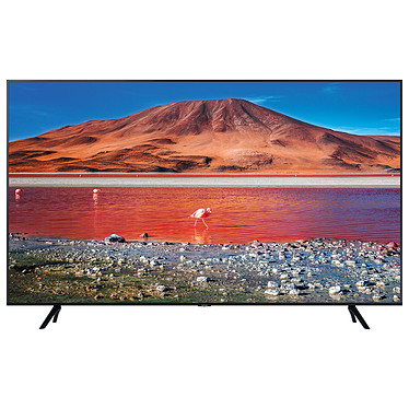"Samsung UE55TU7005 Téléviseur LED 4K Ultra HD 55"" (140 cm) 16/9 - 3840 x 2160 pixels - HDR - Wi-Fi/Bluetooth/AirPlay 2 - 2000 PQI - Son 2.0 20W"