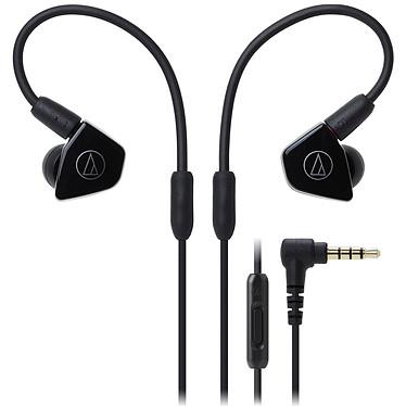 Audio-Technica ATH-LS50iS Noir Écouteurs intra-auriculaires avec télécommande et micro