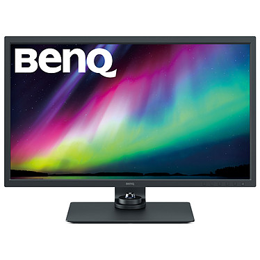 "BenQ 32"" LED - SW321C 3840 x 2160 pixels - 5 ms (gris à gris) - Format large 16/9 - Dalle IPS - HDR - HDMI/Display Port/USB-C - Pivot - Noir"