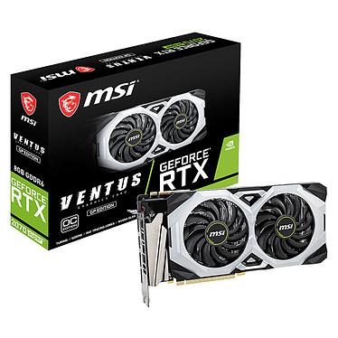MSI GeForce RTX 2070 SUPER VENTUS GP OC 8 Go GDDR6 - HDMI/Tri DisplayPort - PCI Express (NVIDIA GeForce RTX 2070 SUPER)