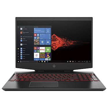 "HP OMEN 15-dh0018nf Intel Core i7-9750H 16 Go SSD 512 Go 15.6"" LED Full HD 144 Hz NVIDIA GeForce RTX 2060 6 Go Wi-Fi AC/Bluetooth Webcam Windows 10 Famille 64 bits"