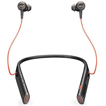 Plantronics Voyager 6200 UC USB-A Noir Écouteurs stéréo Bluetooth USB-A avec annulation active du bruit