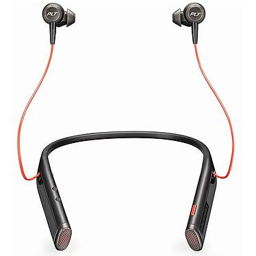Plantronics Voyager 6200 UC USB-C Noir Écouteurs stéréo Bluetooth USB-C avec annulation active du bruit