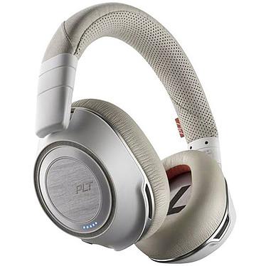 Plantronics Voyager 8200 UC USB-C Blanc Micro-casque stéréo Bluetooth USB-C avec annulation active du bruit