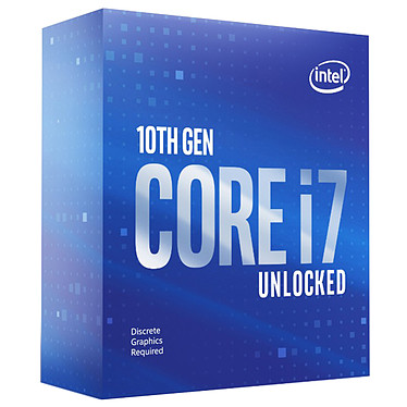 Intel Core i7-10700KF (3.8 GHz / 5.1 GHz)