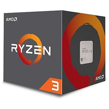 AMD Ryzen 3 1200 AF Wraith Stealth Edition (3.1 GHz / 3.4 GHz) Processeur Quad-Core 4-Threads socket AM4 Cache L3 8 Mo 0.012 micron TDP 65W avec système de refroidissement (version boîte - garantie constructeur 3 ans)