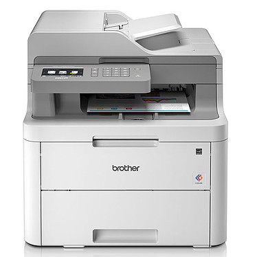 Brother DCP-L3550CDW Imprimante multifonction laser couleur 3-en-1 recto-verso (USB 2.0/Ethernet/Wi-Fi)