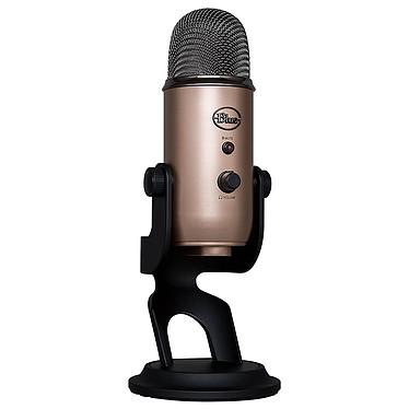 Blue Microphones Yeti Cuivre Microphone à 3 capsules électrostatiques - directivité multiple - USB - sortie casque