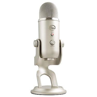 Blue Microphones Yeti Platine Microphone à 3 capsules électrostatiques - directivité multiple - USB - sortie casque