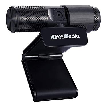 AVerMedia Live Streamer CAM 313 Webcam Full HD 1080p - CMOS 2MP - Deux microphones - Focus fixe - USB - Volet coulissant