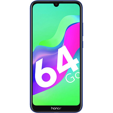 "Honorario 8A 2020 Blue Smartphone 4G-LTE Dual SIM - MediaTek MT6765 8-Core 2.3 Ghz - RAM 3 GB - Pantalla táctil 6.1"" 720 x 1560 - 64 GB - Bluetooth 4.2 - 3020 mAh - Android 9.0"