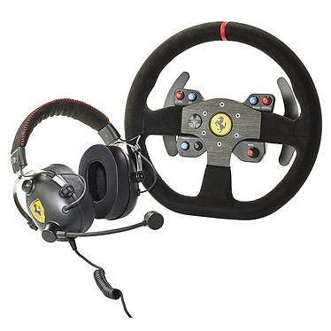 Thrustmaster Ferrari  599XX EVO Alcantara Race Volant réplique de la Formule 1 Ferrari 599XX EVO + Casque gaming en Alcantara