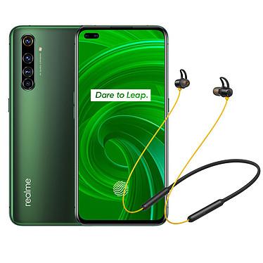 "Realme X50 Pro Vert (8 Go / 128 Go) + Wireless Buds OFFERTS ! Smartphone 5G-LTE - Snapdragon 865 8-Core 2.84 GHz - RAM 8 Go - Ecran tactile Super AMOLED 6.44"" 1080 x 2400 - 128 Go - NFC/Bluetooth 5.1 - 4200 mAh - Android 10 + Écouteurs sans fil OFFERTS !"
