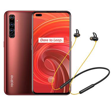 "Realme X50 Pro Rouge (12 Go / 256 Go) + Wireless Buds OFFERTS ! Smartphone 5G-LTE - Snapdragon 865 8-Core 2.84 GHz - RAM 12 Go - Ecran tactile Super AMOLED 6.44"" 1080 x 2400 - 256 Go - NFC/Bluetooth 5.1 - 4200 mAh - Android 10 + Écouteurs sans fil OFFERTS !"