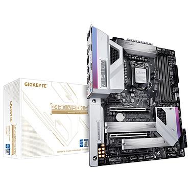 Gigabyte Z490 VISION G Carte mère ATX Socket 1200 Intel Z490 Express - 4x DDR4 - SATA 6Gb/s + M.2 PCI-E NVMe - USB 3.1 - 2x PCI-Express 3.0 16x - 2.5 GbE LAN