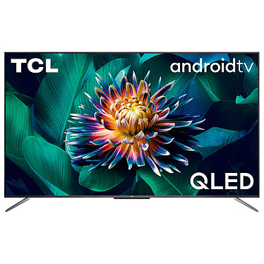 """TCL 50C711 Téléviseur QLED 4K Ultra HD 50"""" (127 cm) - Dolby Vision/HDR10+ - Android TV - Wi-Fi/Bluetooth - Assistant Google - Son 2.0 20W Dolby Atmos - 2400 PPI"""