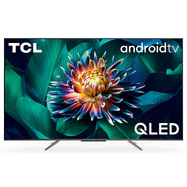 """TCL 55C711 Téléviseur QLED 4K Ultra HD 55"""" (140 cm) - Dolby Vision/HDR10+ - Android TV - Wi-Fi/Bluetooth - Assistant Google - Son 2.0 20W Dolby Atmos - 2400 PPI"""