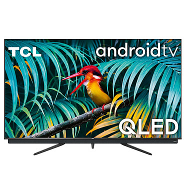 """TCL 55C811 Téléviseur QLED 4K Ultra HD 55"""" (140 cm) - Dolby Vision/HDR10+ - Android TV - Wi-Fi/Bluetooth - Assistant Google - Barre de son 2.1 35W Onkyo - Dolby Atmos - 2800 PPI"""
