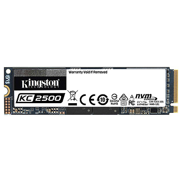 Kingston KC2500 250 GB SSD 250GB M.2 2280 NVMe PCIe 3.0 x4 NAND TLC 3D