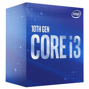 Intel Core i3-10100 (3.6 GHz / 4.3 GHz) Processeur 4-Core 8-Threads Socket 1200 Cache L3 6 Mo Intel UHD Graphics 630 0.014 micron (version boîte - garantie Intel 3 ans)