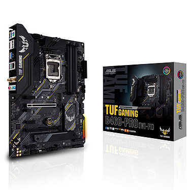 ASUS TUF GAMING B460-PRO (WI-FI) Placa base ATX Socket 1200 Intel B460 Express - 4x DDR4 - SATA 6Gb/s M.2 PCI-E NVMe - USB 3.1 - Wi-Fi 6 AX - 2x PCI-Express 3.0 16x