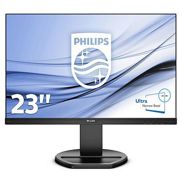 """Philips 22.5"""" LED - 230B8QJEB 1920 x 1200 pixels - 5 ms (gris à gris) - Format large 16/10 - Dalle IPS - Pivot - HDMI - DisplayPort - DVI - Noir"""