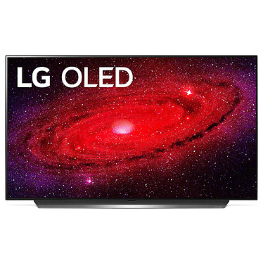 "LG OLED48CX Téléviseur OLED 4K Ultra HD 48"" (121 cm) 16/9 - Dolby Vision IQ - Wi-Fi/Bluetooth/AirPlay 2 - Compatible G-Sync/FreeSync - HDMI 2.1 - Google Assistant/Alexa - Son 2.2 40W Dolby Atmos (dalle native 100 Hz)"