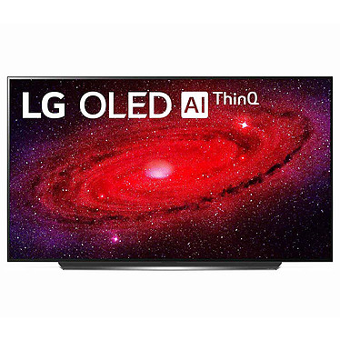 "LG OLED77CX Téléviseur OLED 4K Ultra HD 77"" (195 cm) 16/9 - Dolby Vision IQ - Wi-Fi/Bluetooth/AirPlay 2 - Compatible G-Sync/FreeSync - HDMI 2.1 - Google Assistant/Alexa - Son 2.2 40W Dolby Atmos (dalle native 100 Hz)"