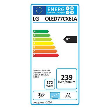 LG OLED77CX pas cher