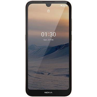 "Nokia 1.3 Sable Smartphone 4G-LTE Dual SIM - Qualcomm 215 Quad-Core 1.3 GHz - RAM 1 Go - Ecran tactile 5.7"" 720 x 1520 - 16 Go - Bluetooth 4.2 - 3000 mAh - Android 10 Go Edition"