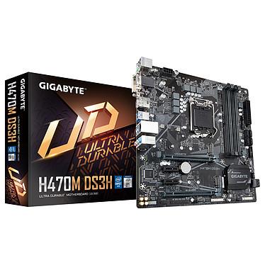Gigabyte H470M DS3H Placa base Micro ATX Socket 1200 Intel H470 Express - 4x DDR4 - SATA 6Gb/s M.2 - USB 3.0 - 2x PCI-Express 3.0 16x