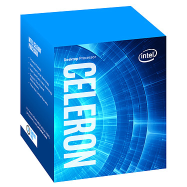 Intel Celeron G5900 (3.4 GHz) Processeur 2-Core 2-Threads Socket 1200 Cache L3 2 Mo Intel UHD Graphics 610 0.014 micron (version boîte - garantie Intel 3 ans)