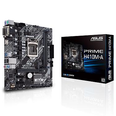 ASUS PRIME H410M-A Placa base Micro ATX Socket 1200 Intel H410 Express - 2x DDR4 - SATA 6Gb/s M.2 PCIe NVMe - USB 3.0 - PCI-Express 3.0 16x