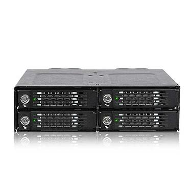 """ICY DOCK ToughArmor MB720M2K-B Rack quadruple baie SSD NVMe M.2 pour baie de lecteur externe 5.25"""""""