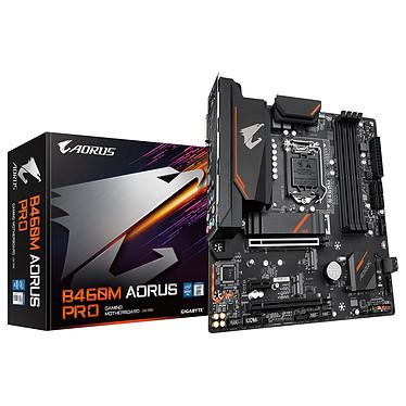 Gigabyte B460M AORUS PRO Placa base Micro ATX Socket 1200 Intel B460 Express - 4x DDR4 - SATA 6Gb/s M.2 - USB 3.0 - 2x PCI-Express 3.0 16x
