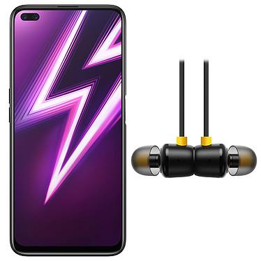 "Realme 6 Pro Rouge Foudroyant (8 Go / 128 Go) + Buds 2 OFFERTS ! Smartphone 4G-LTE Advanced Dual SIM - Snapdragon 720G 8-Core 2.3 GHz - RAM 8 Go - Ecran tactile IPS 6.6"" 1080 x 2400 - 128 Go - NFC/Bluetooth 5.1 - 4300 mAh - Android 10 + Écouteurs OFFERTS !"