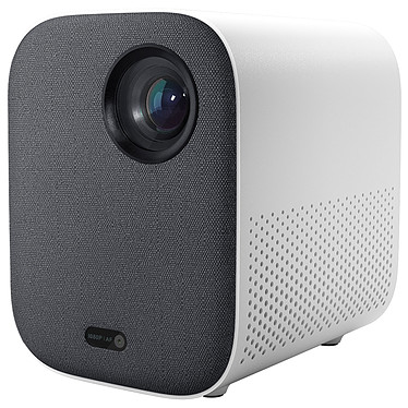 Xiaomi Mi Smart Compact Projector Vidéoprojecteur portable LED DLP - Full HD - 500 Lumens - Stockage interne 16 Go - 2x 5W - Bluetooth/WiFi - USB/HDMI - Android TV 9.0