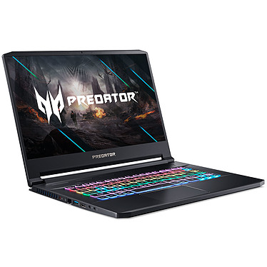 "Acer Predator Triton 500 PT515-52-75XW Intel Core i7-10750H 16 Go SSD 1 To 15.6"" LED Full HD 300 Hz G-SYNC NVIDIA GeForce RTX 2070 SUPER 8 Go Wi-Fi AX/Bluetooth Webcam Windows 10 Famille 64 bits"