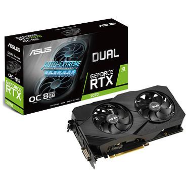 ASUS GeForce RTX 2070 - DUAL-RTX2070-O8G-EVO-V2 8 Go GDDR6 - Dual HDMI/DisplayPort/DVI - PCI Express (NVIDIA GeForce RTX 2070)