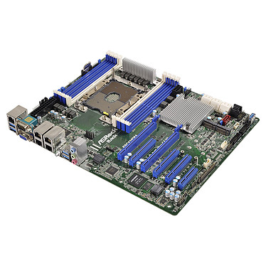 ASRock Rack EPC621D8A Placa base ATX Socket P Intel C621 - 8x DDR4 - SATA 6Gb/s M.2 - USB 3.0 - 2x PCI-Express 3.0 16x