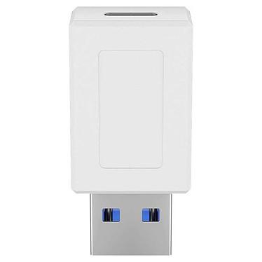 Goobay Adaptateur USB 3.0 SuperSpeed vers USB-C - Blanc Adaptateur USB 3.0 Type-A vers USB 3.0 Type C - jusqu'à 5 Gbit/s - Blanc
