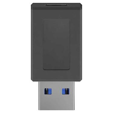 Goobay Adaptateur USB 3.0 SuperSpeed vers USB-C - Noir Adaptateur USB 3.0 Type-A vers USB 3.0 Type C - jusqu'à 5 Gbit/s - Noir