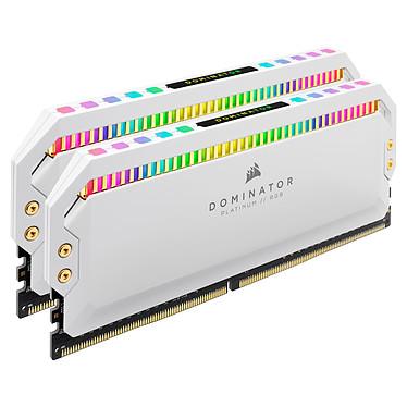 Avis Corsair Dominator Platinum RGB 16 Go (2 x 8 Go) DDR4 4000 MHz CL19 - Blanc