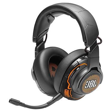 JBL Quantum ONE Black Auriculares Gaming circum-aurales con cable - Audio de alta resolución - Sonido envolvente con calibración personalizada - Auricular DTS:X 2.0 - Reducción activa de ruido - Micrófono extraíble - USB/Jack 3.5mm - RGB - Compatible con PC/Mac/Consolas/Móvil