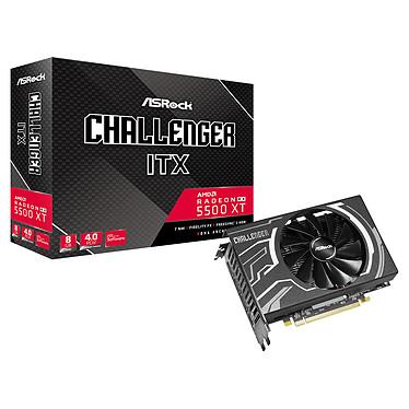 ASRock Radeon RX 5500 XT Challenger ITX 8G 8 GB GDDR6 - HDMI/Tri DisplayPort - PCI Express (AMD Radeon RX 5500 XT)