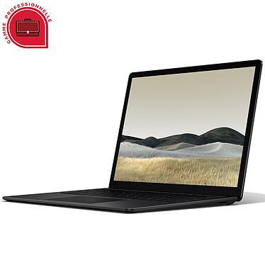 "Microsoft Surface Laptop 3 13.5"" for Business - Noir (PKU-00027)"