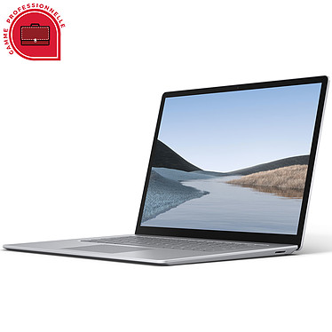 "Microsoft Surface Laptop 3 15"" for Business - Platine (PLZ-00006) Intel Core i7-1065G7 16 Go SSD 256 Go 15"" LED Tactile Wi-Fi AX/Bluetooth Webcam Windows 10 Professionnel 64 bits"